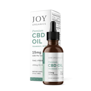 CBD Oil Tinctures by Joy Organics - Tranquil Mint