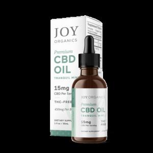 CBD Oil Tinctures by Joy Organics - Tranquil Mint