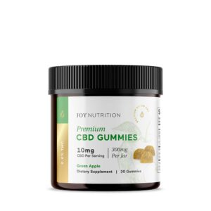 CBD Gummies - Green Apple